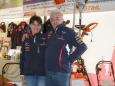 Liane Scheikl & Franz Ulrich von Autohaus Gußwerk - Mariazellerland Messe 2013 am Parkdeck
