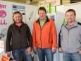 Georg Gaulhofer, Sepp Fraiss & Mario Kalteis von SBM Mariazell - Mariazellerland Messe 2013 am Parkdeck