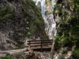 Kurz vorm Marienwasserfall in der Grünau - Mariazellerland