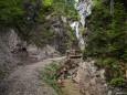 Weg zum Marienwasserfall in der Grünau - Mariazellerland