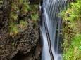 Ein Wasserfall ober dem Marienwasserfall in der Grünau - Mariazellerland