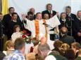 Segen von Stadtpfarrer Michael Staberl - 90 Jahre MGV Alpenland Mariazell - Festveranstaltung