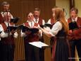 Chorleiter Stellv. Edith Waxenegger beim MGV Alpenland Mariazell - Liederabend im Europeum Mariazell