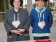 Vroni und Marion empfingen die Besucher mit Pirker Lebkuchen - Mnozil Brass Bergwelle 2014