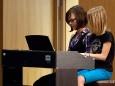Anna Abl, Sandra Auer. Musikschule Mariazellerland - Schlusskonzert 2010
