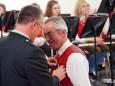 60 Jahre Musikverein Gußwerk - Jubiläumskonzert. Ausgezeichnet wurde Karl Minar