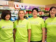 Nah&Frisch Team vlnr. Isabella, Christine, Sandra, Cornelia