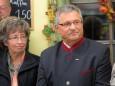 Mag. Karl Oberleitner von der Wirtschaftskammer mit Gattin Ilse bei der Nah&Frisch Markt Neueröffnung in Mitterbach