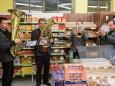 Mitterbacher Bläser bei der Nah&Frisch Markt Neueröffnung in Mitterbach