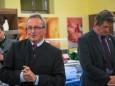 Landtagsabgeordneter Karl Bader bei der Nah&Frisch Markt Neueröffnung in Mitterbach