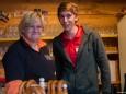 Kulinarische Betreuer - Bergwelle 2012 mit Nik P. und Marlena Martinelli