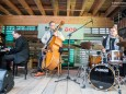 Triple Ace - Vernissage & Jazz bei der Holzwerkstatt in Halltal