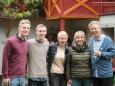 Familie Ofner - Vernissage & Jazz bei der Holzwerkstatt in Halltal