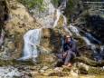 Schleierfall  - Ötschergräben - Wanderung am 21. April 2015