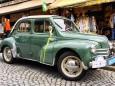 Renault 4CV Cabrio Limousine Bj. 1955 - Oldtimer Treffen in Mariazell 2012 - 29. Steirisch-Niederösterreichische Pässefahrt