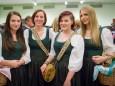 Marketenderinnen Conny, Sieglinde, Julia, Elisabeth - Osterkonzert der Stadtkapelle Mariazell 2014