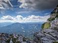 Ausblick vom Rauhen Kamm - Richtung Mariazell - Gemeindealpe