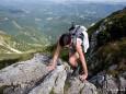 Klettern am Rauhen Kamm