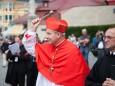 Requiem für Otto von Habsburg in Mariazell - Kardinal Schönborn und Superior Schauer