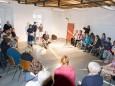 Palmbinden Workshop in Mariazell 2013. Foto: Josef Kuss