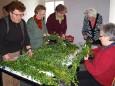 Palmbuschenbinden in Mariazell 2011 - Foto zur Verfügung gestellt von Mariazeller Heimathaus - Renate Weninger