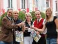 Platzwahl 2010 Sieger - Mariazell - Johann Kleinhofer, Karl Oberfeichter, Gerti Lammer, BGM Josef Kuss, Petra Lammer