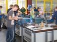 Poly Mariazell erfolgreich bei den Landesmeisterschaft der Polytechnischen Schulen im Fachbereich Metall in der Böhler-Lehrwerkstätte