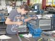 Patrick beim Metaller -  Landeswettbewerb der Polytechnischen Schulen der Steiermark