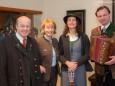 Prof. Granser mit Gattin Beate, Ulrike und Helmut Schweiger - Prof. Dr. h.c. Günther A. Granser Ehrenpräsident vom Heimathaus Mariazell