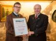 Andreas Schweighofer & Prof. Dr. h.c. Günther A. Granser Ehrenpräsident vom Heimathaus Mariazell