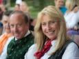 Mariazells Bürgermeister Josef Kuss mit Gattin Renate - Rainhard Fendrich Konzert bei der Bergwelle in Mariazell 2012