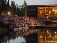 Tribühne und VIP Bereich Arche - Rainhard Fendrich Konzert bei der Bergwelle in Mariazell 2012