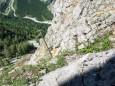 Runterfallen nicht erlaubt (Rotmäuer) - Brunnsee auf die Riegerin - Bergtour - 3.Juli 2014