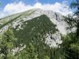 Blick zur Riegerin von der Riegerinalm - Brunnsee auf die Riegerin - Bergtour - 3.Juli 2014