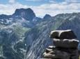 Ebenstein - Brunnsee auf die Riegerin - Bergtour - 3.Juli 2014