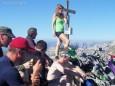 Ringkamp (2153 m) - Neues Gipfelkreuz durch die Bergrettung. Foto: Gerhard Wagner