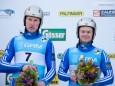 Pavel Porshnev/Ivan Lazarev (Bronze) - Naturbahn Rodel WM 2015 im Mariazellerland - Doppelsitzer Bewerb