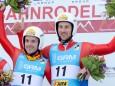 Florian Clara/Patrick Pigneter (Gold) - Naturbahn Rodel WM 2015 im Mariazellerland - Doppelsitzer Bewerb