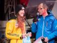 Teilnehmerin Deutschland - Naturbahn-Rodel WM 2015 im Mariazellerland - Eröffnungsfeier.