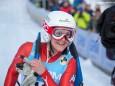 Freude der Naturbahn Rodel Weltmeisterin 2015 - Evelin Lanthaler