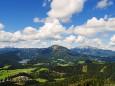 Romana Reithner - Blick auf Erlaufsee, Gemeindealpe und Ötscher