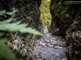Hindurch durch Felsspalten - Roßlochklamm zwischen Frein und Mürzsteg
