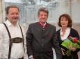 Robert Karner, Alfred Hinterecker, Roswitha Karner - RR-Residenzen in Mitterbach - Eröffnungsfeier