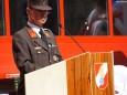 Feuerwehrkommandant HBI Bodo Demmerer - Feuerwehr Mariazell Rüsthaus Segnung - Festakt am 5. Mai 2012
