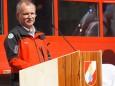 Bergrettungs Ortsstellenleiter Franz Tributsch - Feuerwehr Mariazell Rüsthaus Segnung - Festakt am 5. Mai 2012