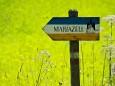 Salzaklamm Wanderung - Wegweiser Richtung Annaburg nach Mariazell