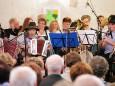 Volksmusikensemble der MS Mariazellerland beim Sänger- und Musikantentreffen in Mariazell mit ORF Steiermark