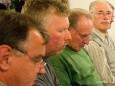 Sängerrunde Halltal - Hans Wurzinger, Hermann Ofner, Peter Janetschek, Walter Fluch