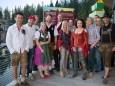 VIP's der Fa. Rauch mit den Seern - Seer Bergwelle auf der Bürgeralpe in Mariazell 2013