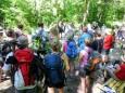 Waldandacht ,bis zur Durchlasshöhe,heißts Schweigen...Mariazeller Sonntagberg Wallfahrt von 4. - 6. Juli 2015
